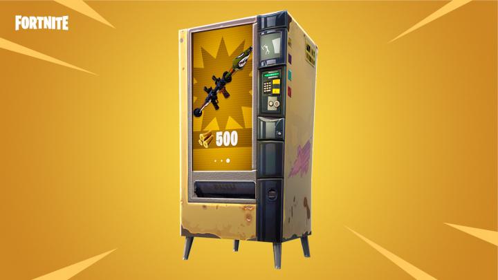 フォートナイト バトルロイヤル: 資材で武器を購入できる自動販売機が追加、武器の精度が変更、爆発物限定モードが復活