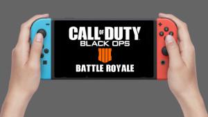 [噂]CoD:BO4: 『CoD:BO4 Battle Royale』がNintendo Switchでリリース?
