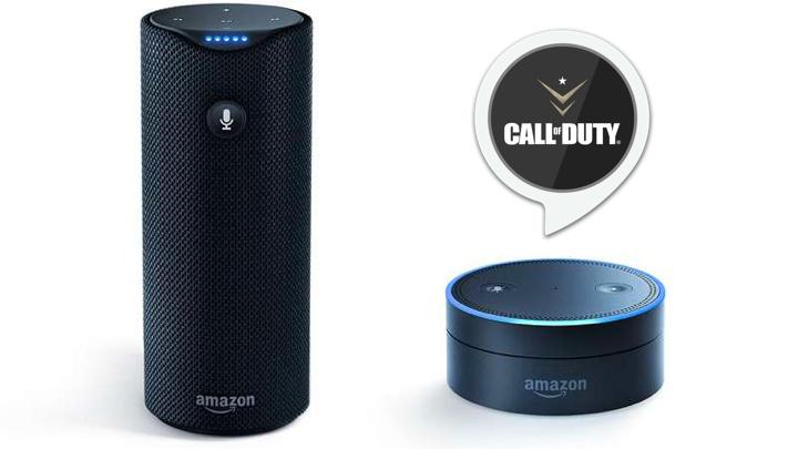 『CoD:WWII』がAmazon Alexaに対応、AIスピーカーが最適なプレイを提案