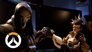 オーバーウォッチ: 2周年を祝うストップモーション・アニメ公開、お茶目なリーパーは必見