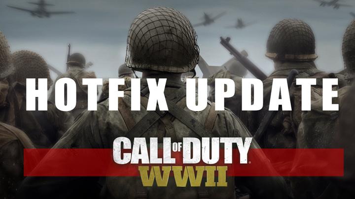 CoD:WWII:武器調整