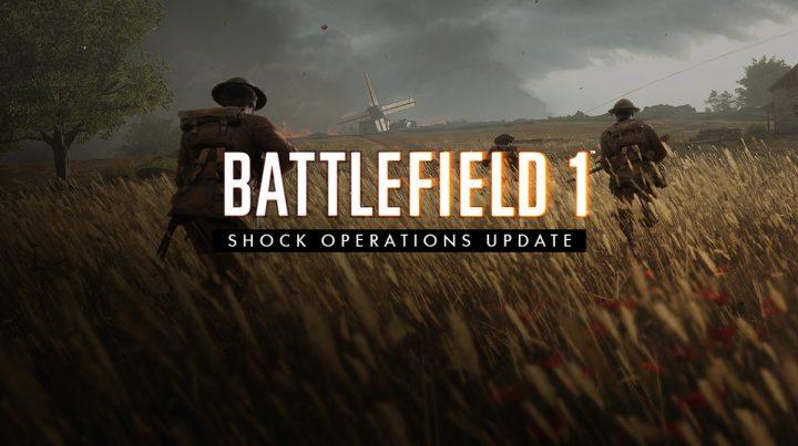BF1:最後となるショック・オペレーション アップデート配信、新ゲームモード「ショック・オペレーション」や新武器3種など