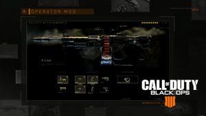 CoD:BO4:武器に強力な性能を付与する「オペレーターMOD