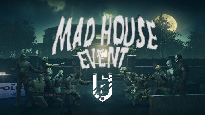 レインボーシックス シージ:ハロウィンイベント「MAD HOUSE」開催、恐怖の限定アイテムやプレイリストを楽しもう(31日まで)
