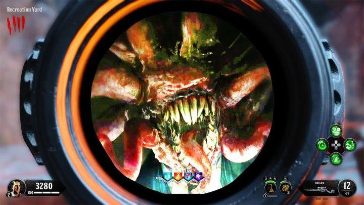 CoD:BO4:ゾンビ「Blood of the Dead」のびっくりホラー系イースターエッグ発見