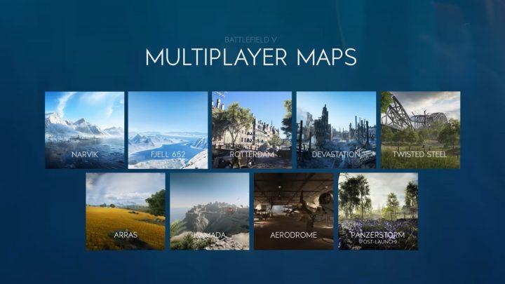 BFV:マルチプレイヤーマップの詳細映像公開、ローンチでのマップ数は8つ