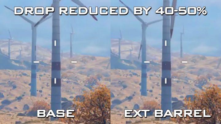 """【重要】CoD:BO4:""""ブラックアウト""""での各武器の弾道落下検証、拡張バレルはかなり有効"""