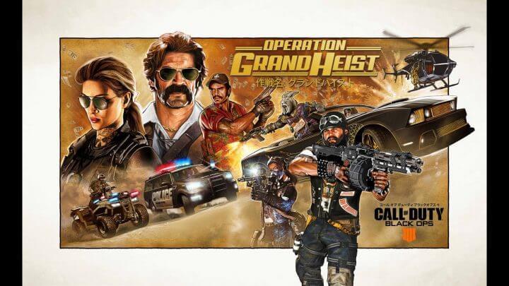 grand heist CODBO4