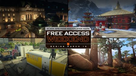 CoD:BO4:4種のBlack Ops Passマップを無料解放、3月16日から19日まで