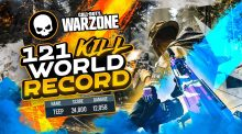 CoD:Warzone:世界記録「1試合121キル」達成(動画あり)